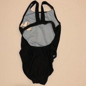Nike Swim - Nike Women's Black Racerback Swimsuit One Piece 8